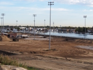 Berm and Community Park Construction (10/2014)