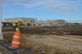 Berm Construction (East Side) (12/2014)