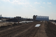 Berm Construction (East Side) (01/2015)