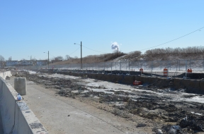 Berm Construction (South Side) (02/2015)