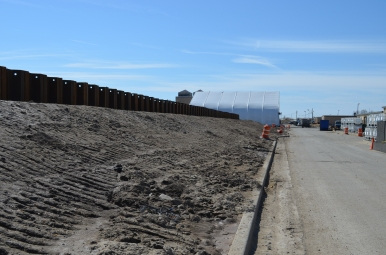Berm Construction (East Side) (03/2015)