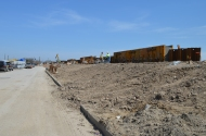 Berm Construction (West Side) (04/2015)