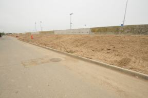 Berm Construction (West Side) (05/2015)